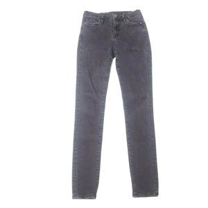 All Saints Black Washed High Rise Eve Jeans 27